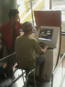 Simulator motor